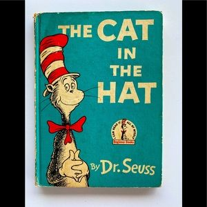 Vintage 1957 The Cat in the Hat Dr Seuss